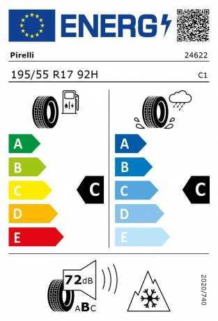 BMW Reifen Pirelli W 210 Snowcontrol 3 195 55 F17 92H