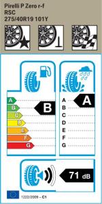 BMW Reifen relli P Zero RSC 275 40 R19 101Y