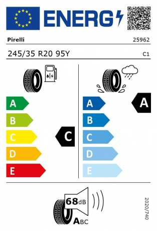 BMW Reifen relli P Zero MOE RSC 245 35 R20 95Y XL