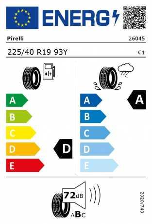 BMW Reifen relli P Zero RSC 225 40 R19 93Y XL