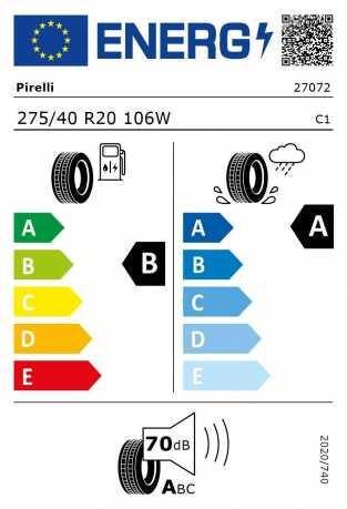 BMW Reifen relli P Zero RSC 275 40 R20 106W