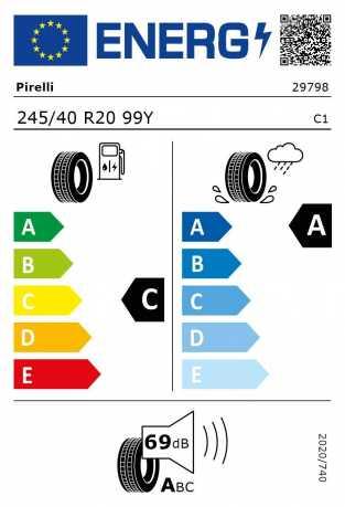 BMW Reifen relli P Zero RSC 245 40 R20 99Y