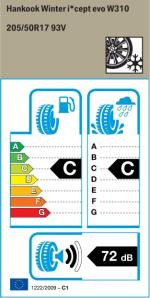 BMW Reifen   205 50 R17 93V
