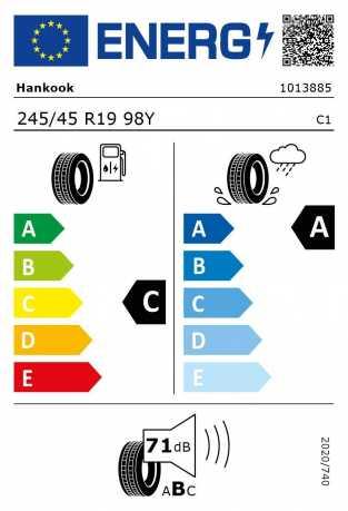 BMW Reifen nkook Ventus S1 evo2 K117B RSC 245 45 R19 98Y